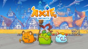 Axie Infinity NFT Game AXS Airdrop Staking