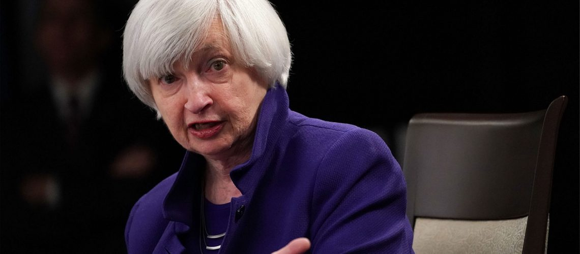 Janet Yellen Warns Crypto Is Used for Terrorist Financing