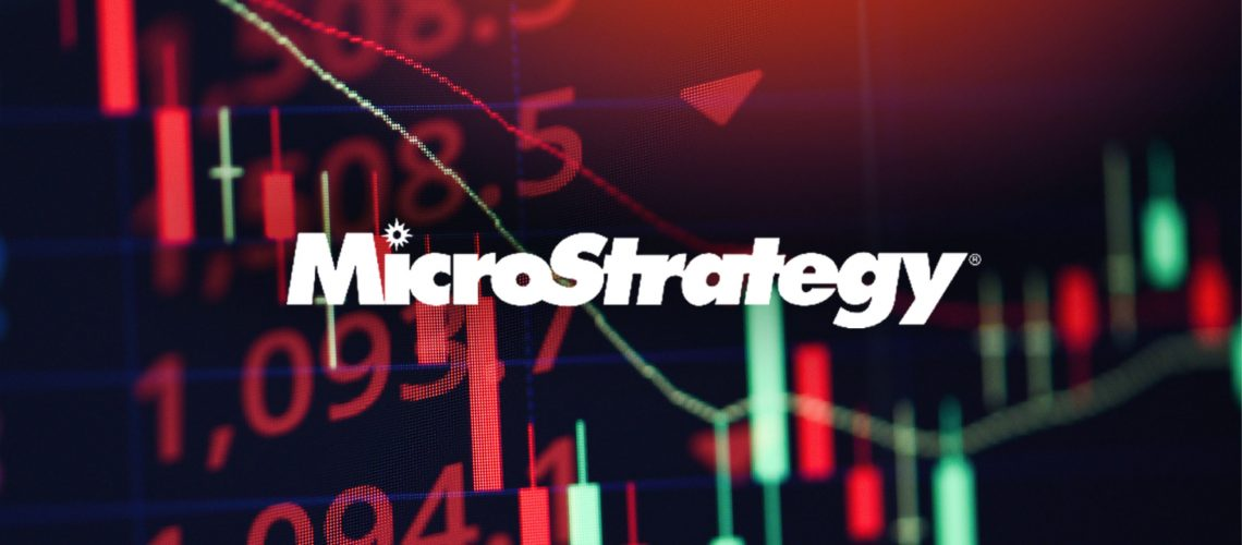 MicroStrategy stock price dropped